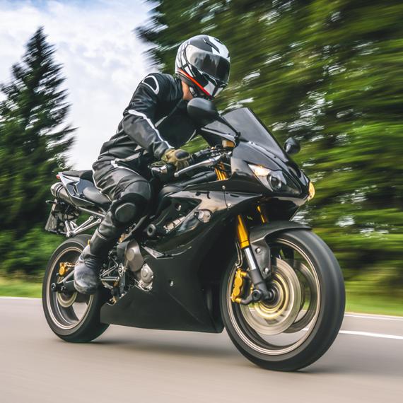 Auswahl eines Top-Motorrads