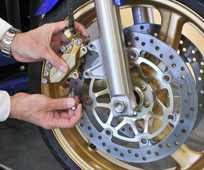 Motorrad-Brems